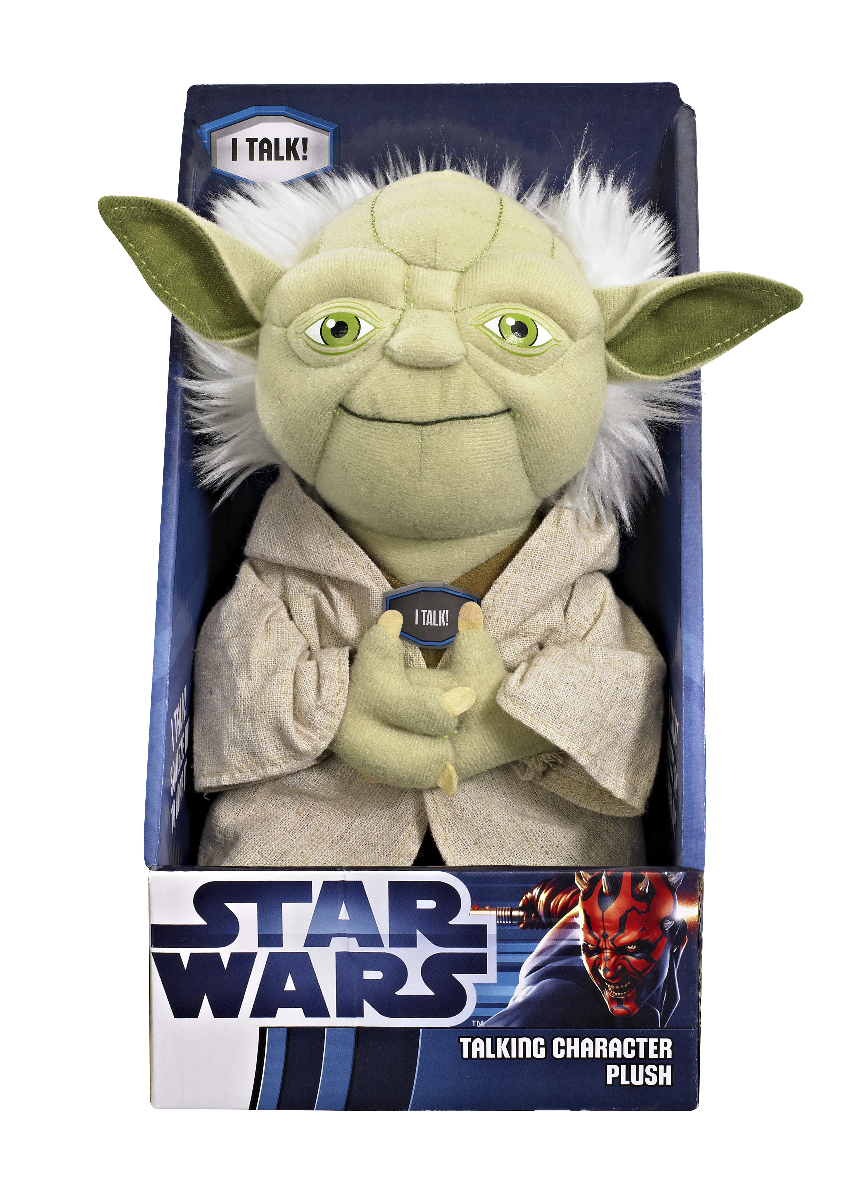 SW YODA MEDIUM TALKING PLUSH