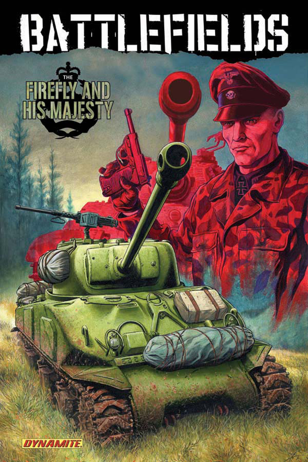 GARTH ENNIS BATTLEFIELDS TP VOL 05 FIREFLY & MAJESTY
