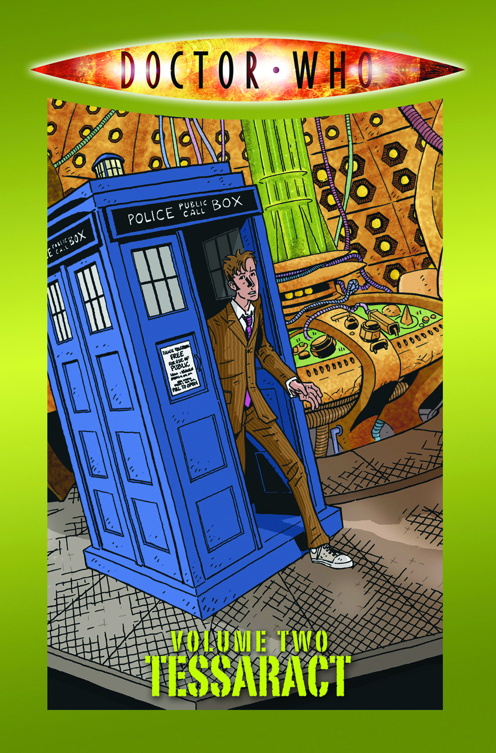 DOCTOR WHO 1 TP VOL 02 TESSERACT