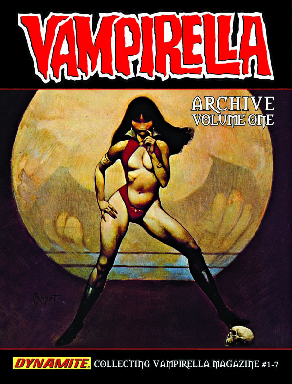 VAMPIRELLA ARCHIVES HC VOL 01