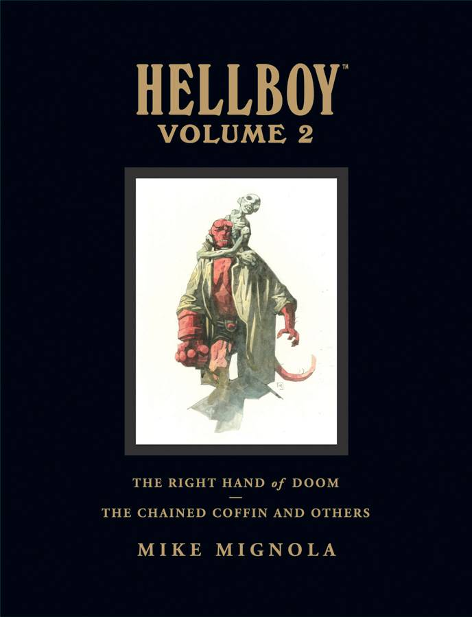 HELLBOY LIBRARY HC VOL 02 CHAINED COFFIN