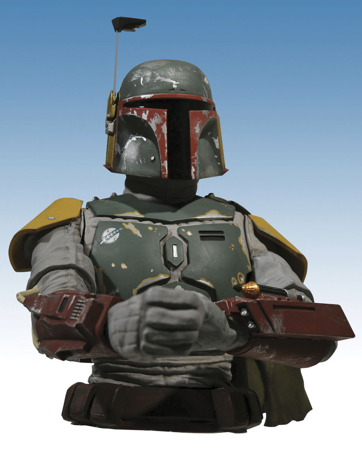 STAR WARS BOBA FETT BUST BANK