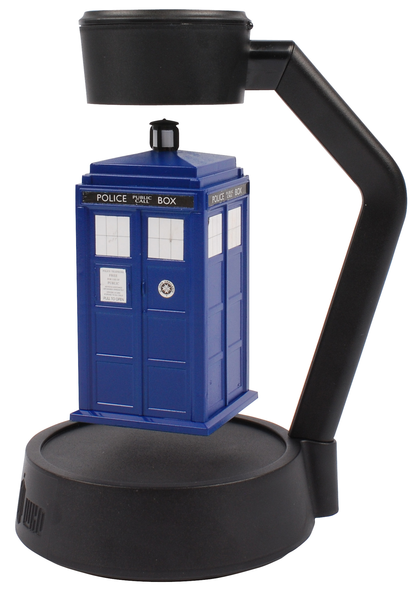 DOCTOR WHO LEVITATING TIMELORDS SPINNING TARDIS