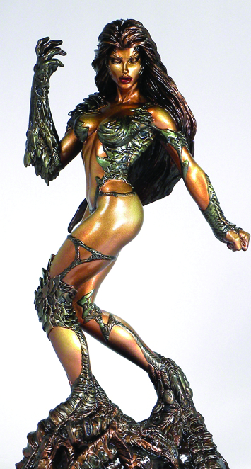 WITCHBLADE FAUX BRONZE STATUE
