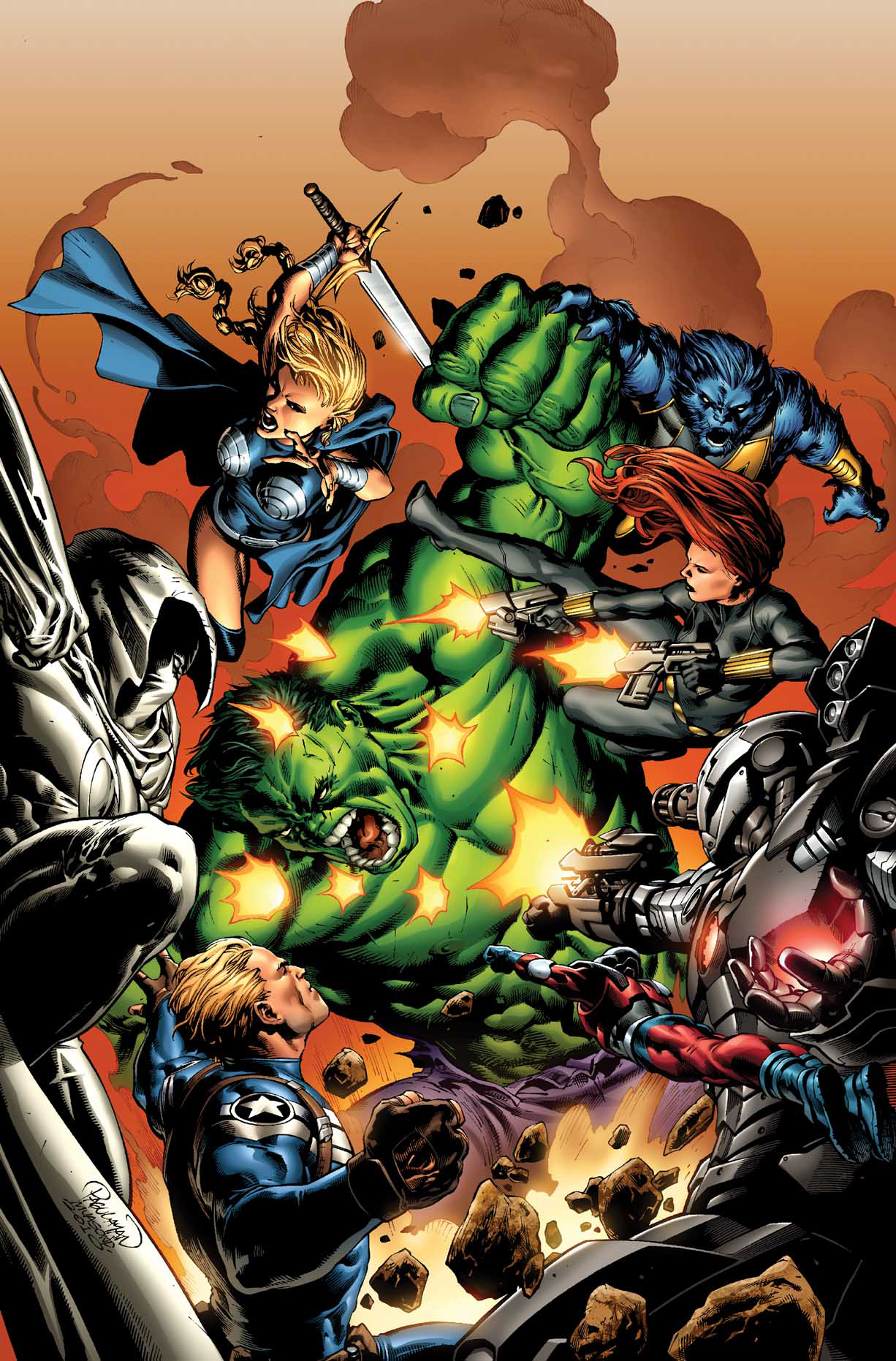 INCREDIBLE HULKS #614