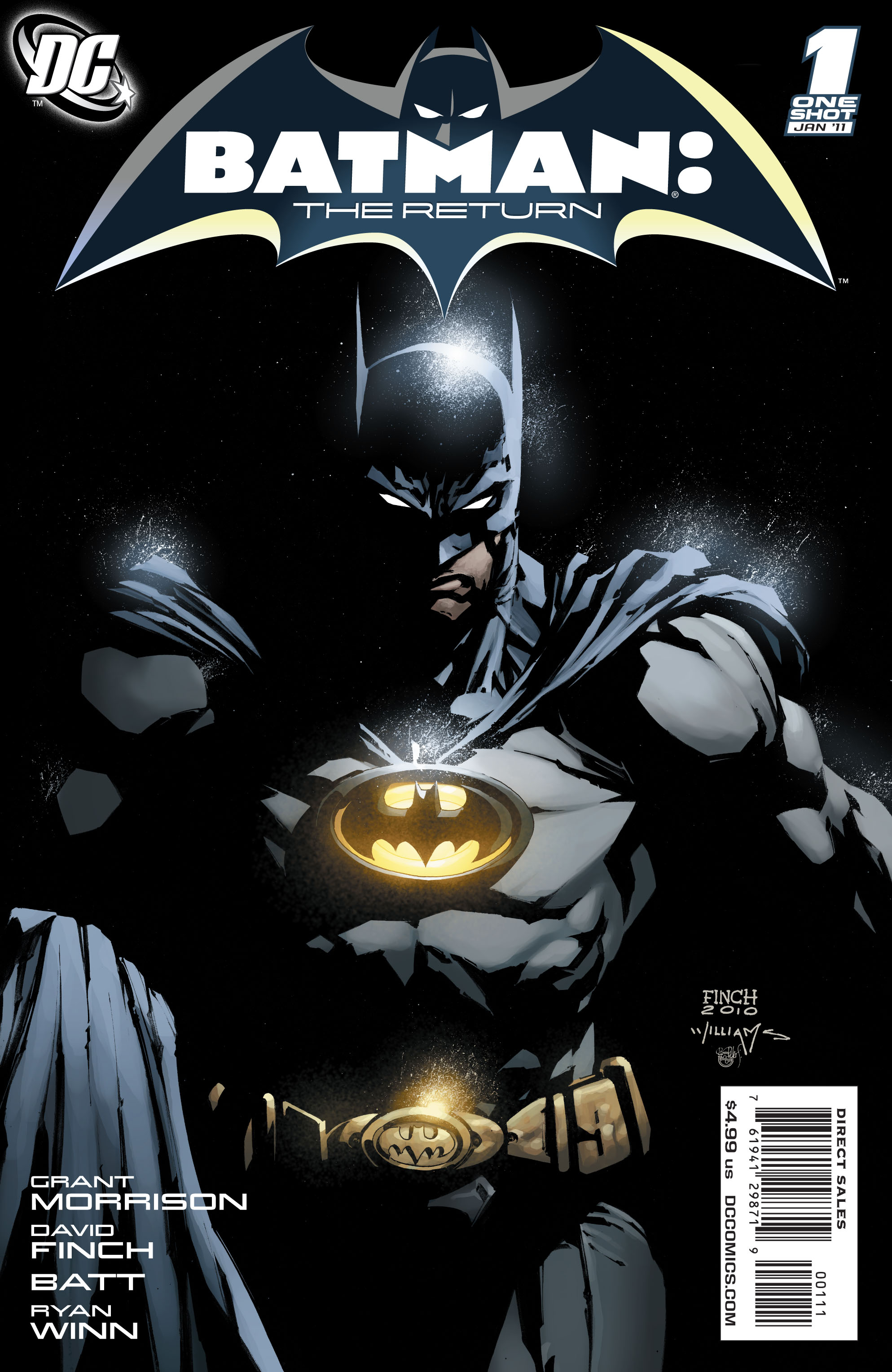 BATMAN THE RETURN #1