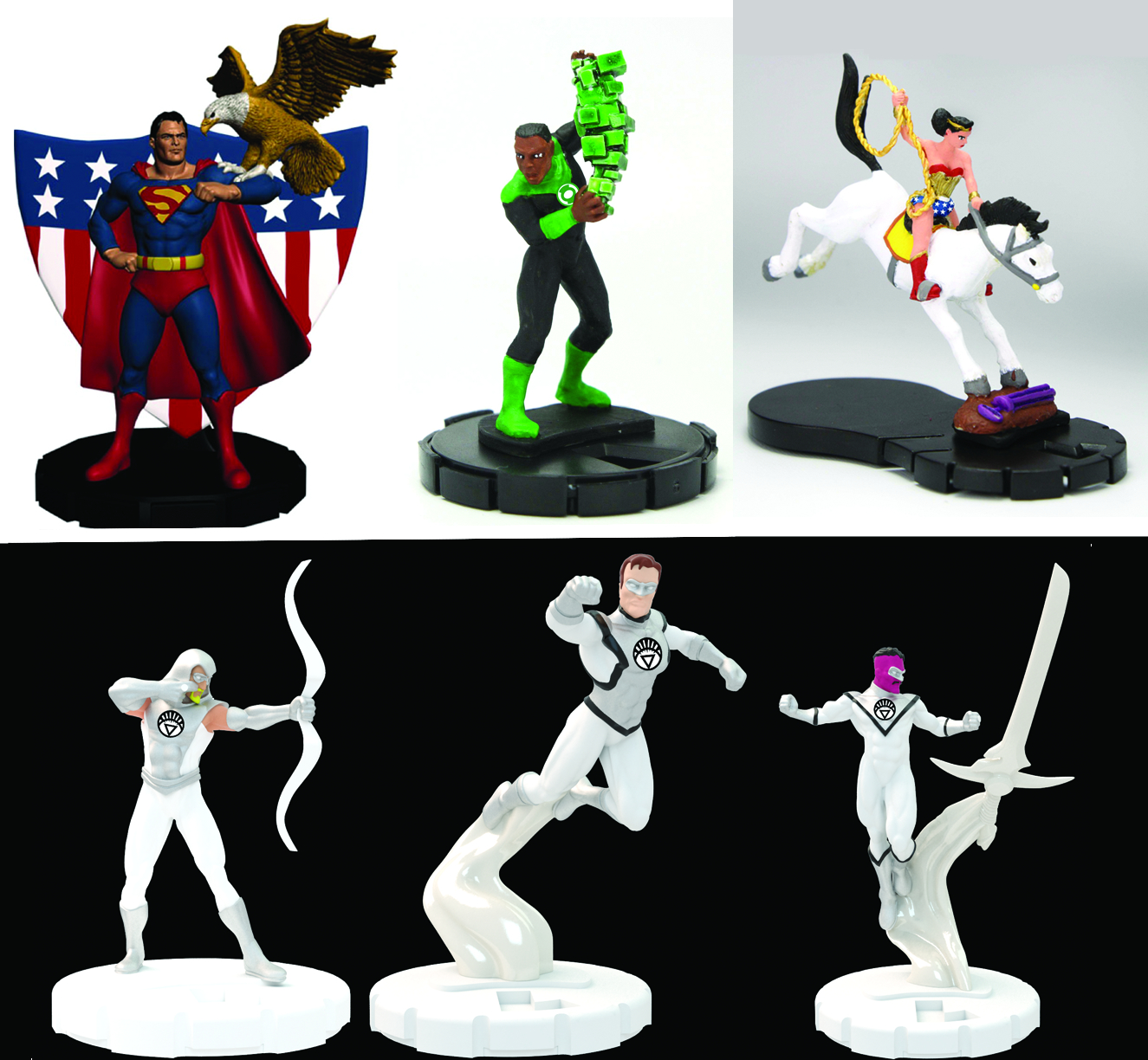 Free Comic Book Day Heroclix: DC HEROCLIX 75TH ANNIVERSARY BOOSTER PACK