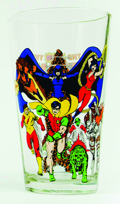 TOON TUMBLERS TEEN TITANS PINT GLASS