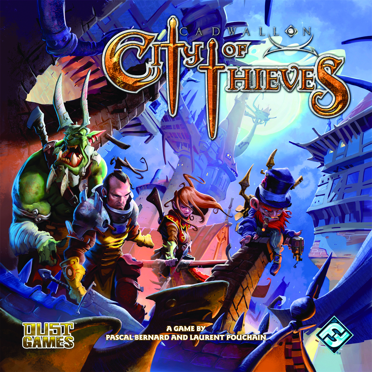 CADWALLON CITY OF THIEVES BOARD GAME