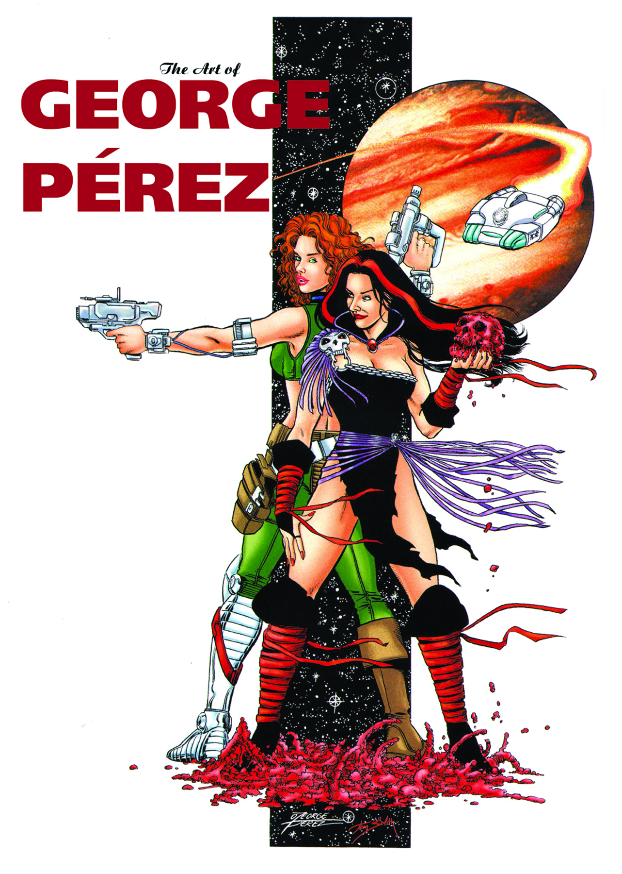 GEORGE PEREZ ART OF HC