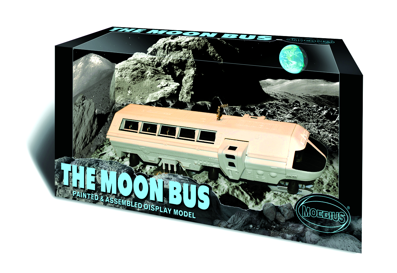 MOON BUS PREFINISHED DISPLAY MODEL