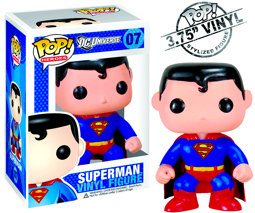 POP HEROES SUPERMAN VINYL FIG