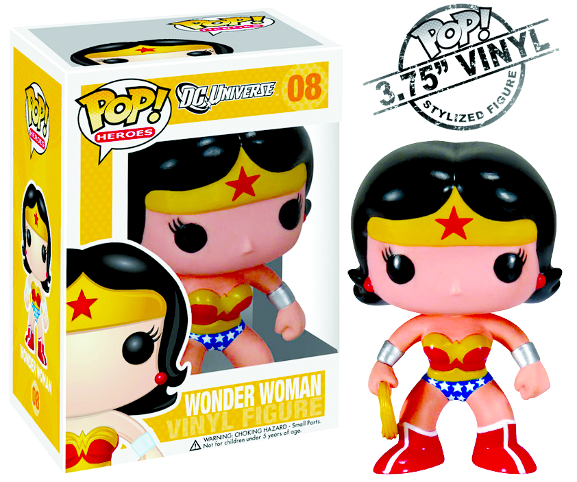 POP HEROES WONDER WOMAN VINYL FIG