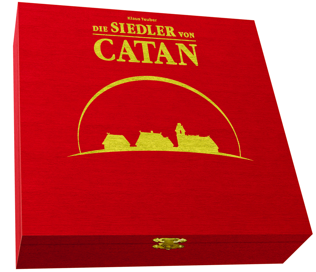 SETTLERS OF CATAN 15TH ANNIVERSARY WOOD ED