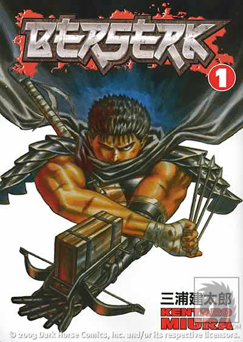 BERSERK TP VOL 01 BLACK SWORDSMAN