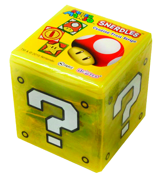 SUPER MARIO SNERDLES CANDY 12 PC DISPLAY