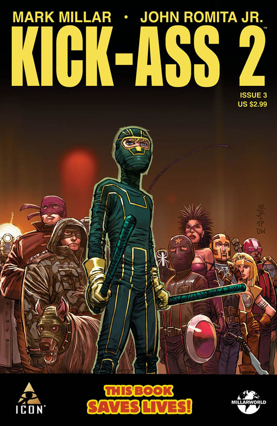 KICK-ASS 2 #3 (MR) (OF 7)