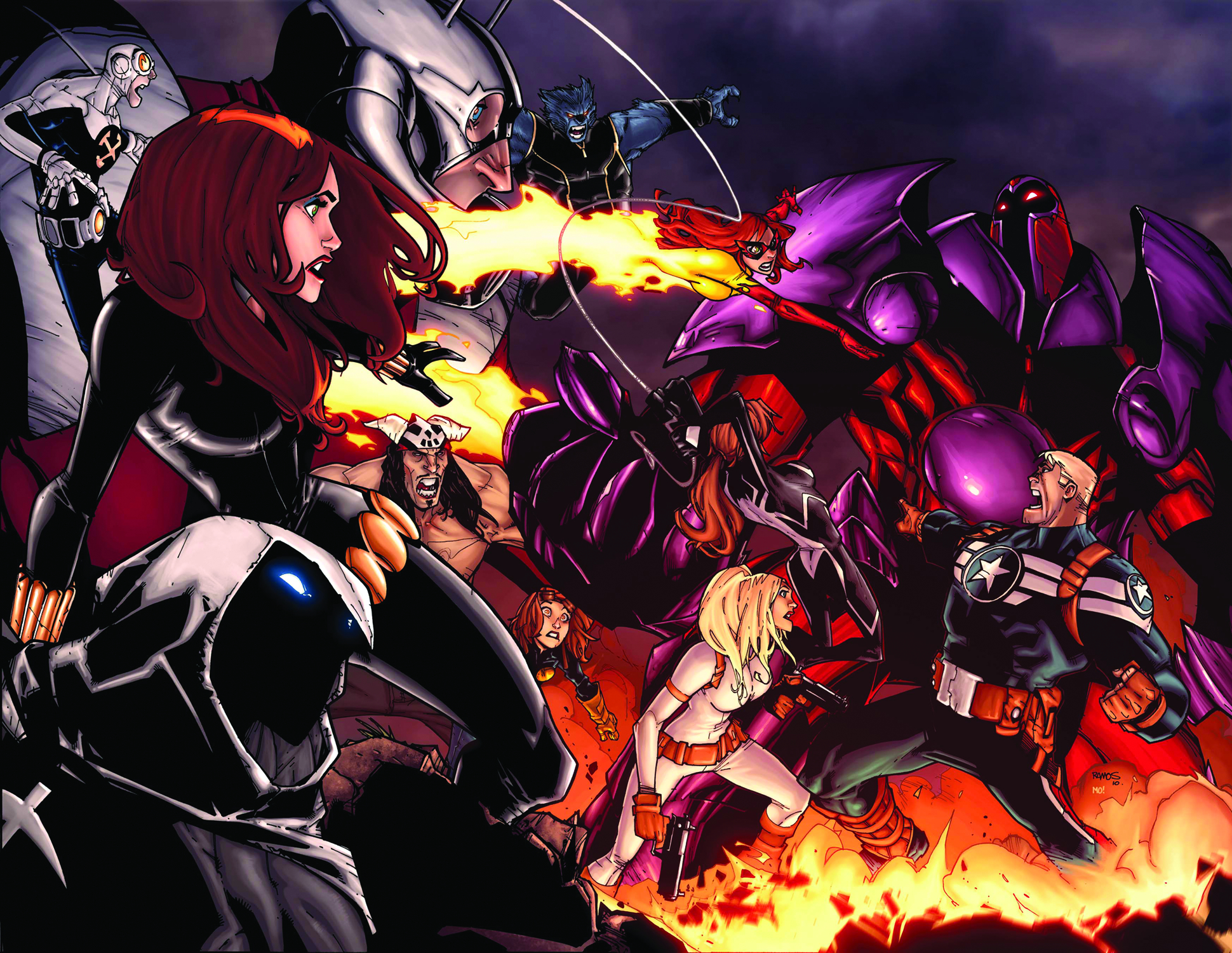 ONSLAUGHT UNLEASHED #1 (OF 4)