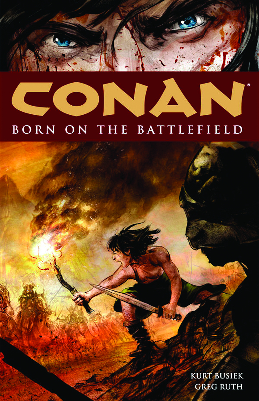 CONAN TP VOL 00 BORN ON BATTLEFIELD