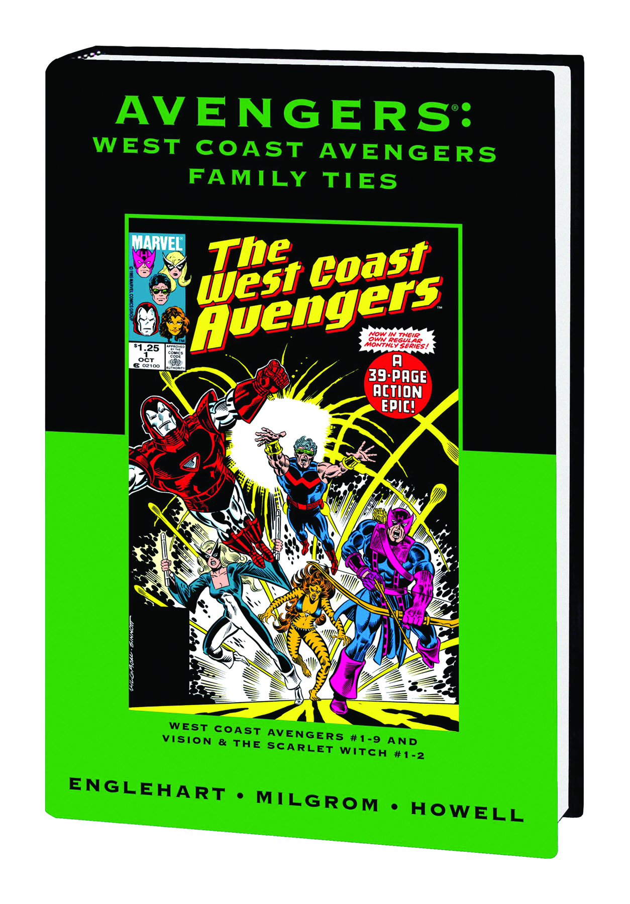 AVENGERS WEST COAST PREM HC FAMILY TIES DM VAR ED 64