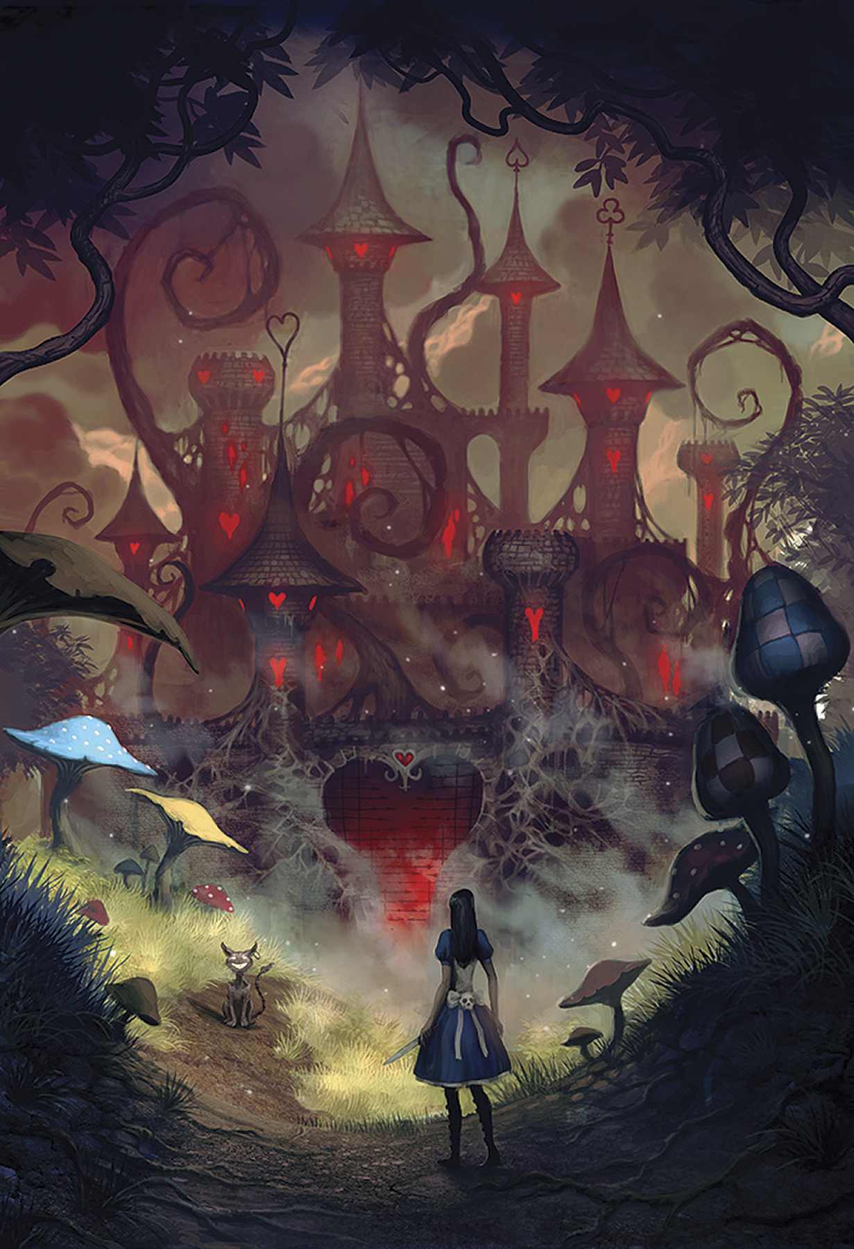 ART OF ALICE MADNESS RETURNS HC (JAN110115)