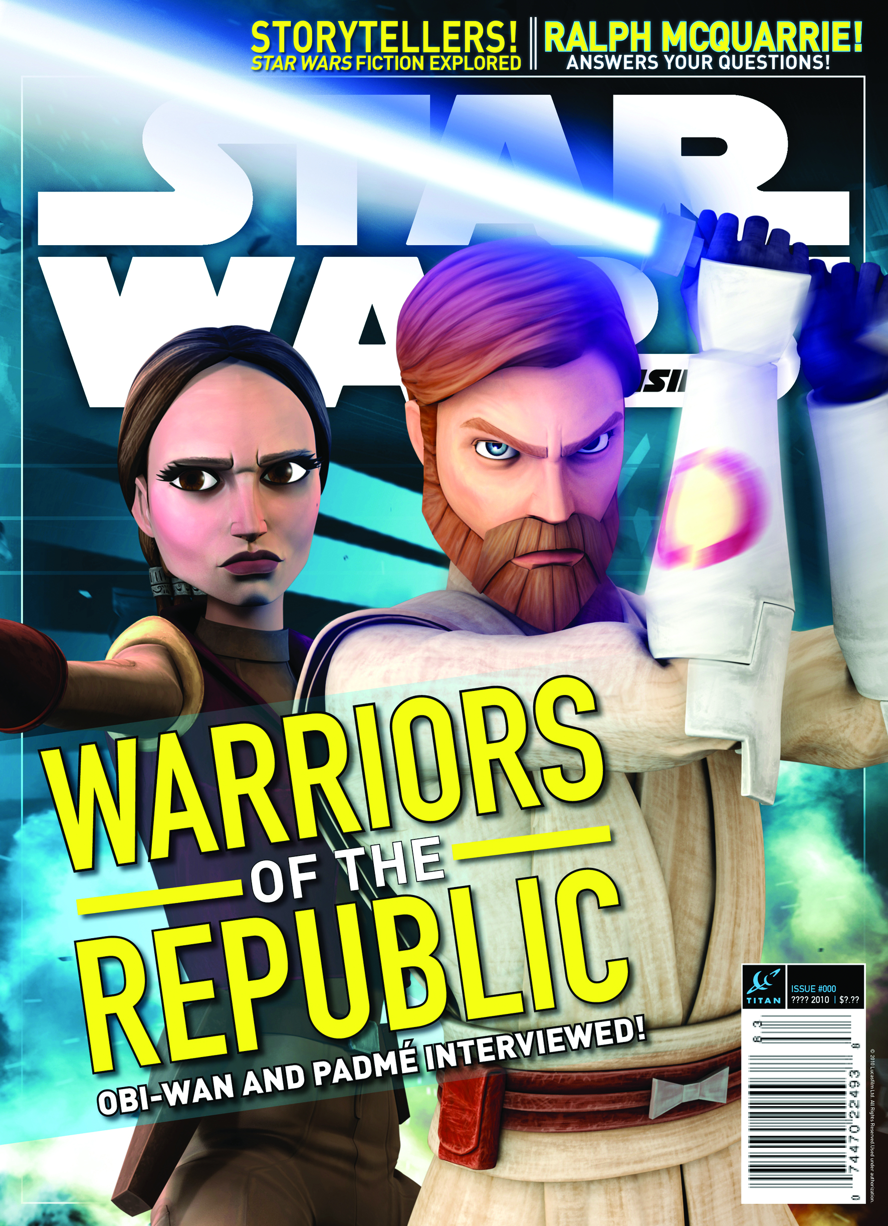 STAR WARS INSIDER #124 NEWSSTAND ED