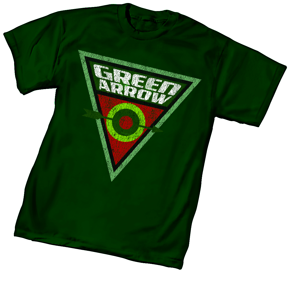GREEN ARROW BULLSEYE T/S XL