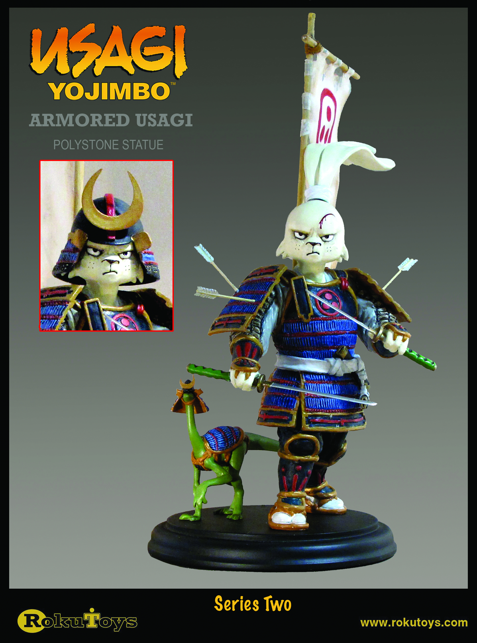 Feb111678 Usagi Yojimbo Usagi Armor Statue Previews World