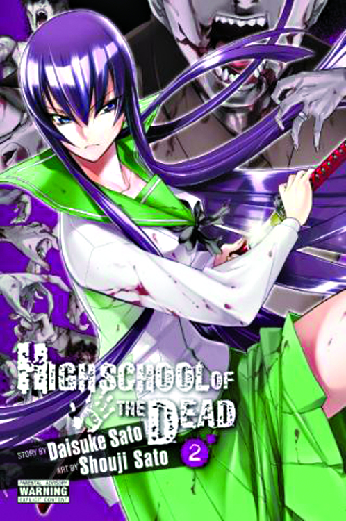 (USE OCT148163) HIGH SCHOOL OF DEAD GN VOL 02