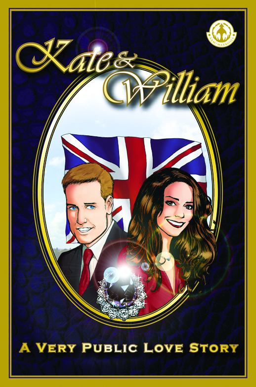 KATE & WILLIAM VERY PUBLIC LOVE STORY TP