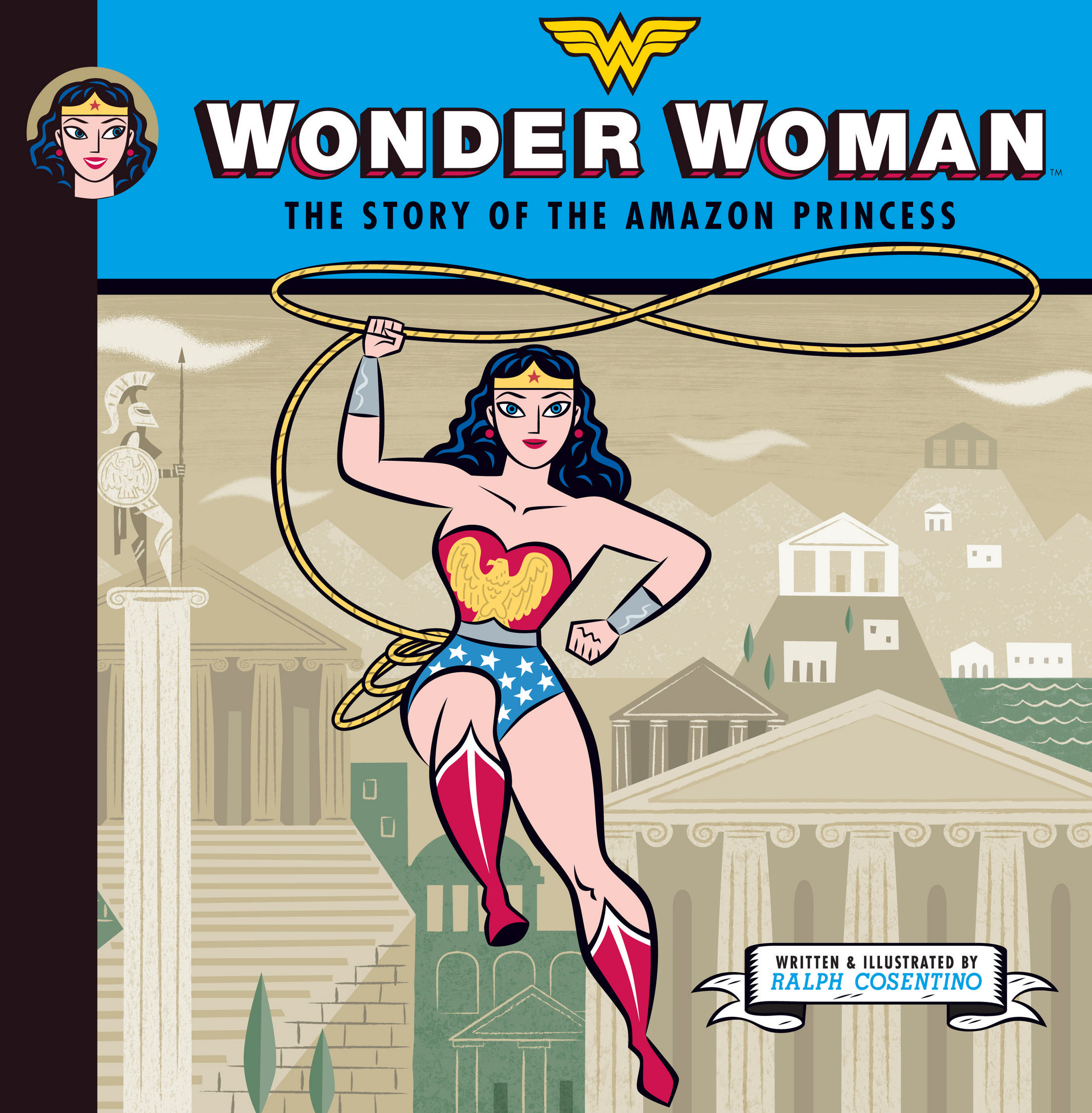WONDER WOMAN STORY OF AMAZON PRINCESS YR HC