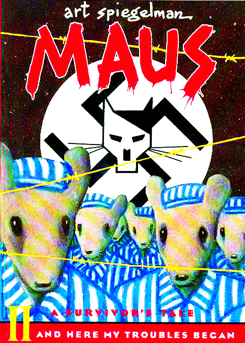 MAUS SURVIVORS TALE TP VOL 02 HERE MY TROUBLES BEGAN