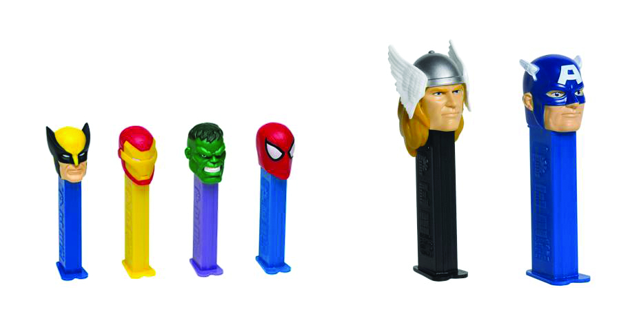 PEZ AVENGERS MOVIE BLISTER PACK ASST
