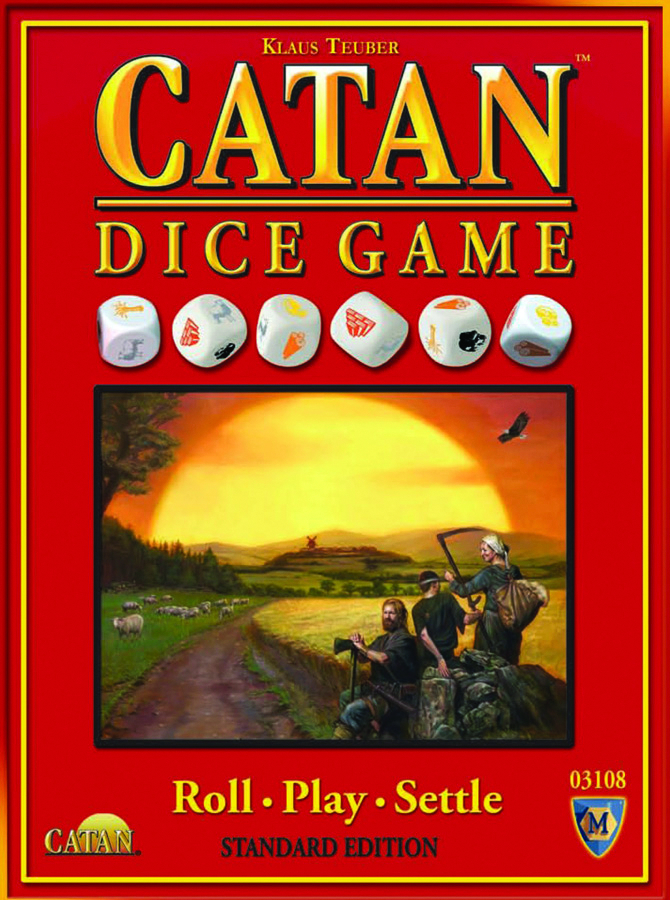 CATAN DICE GAME STD ED
