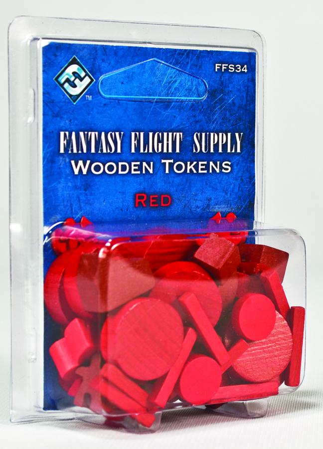Red Gaming Tokens Fantasy Flight Supply