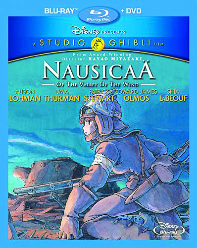 NAUSICAA OF THE VALLEY OF THE WIND BD + DVD