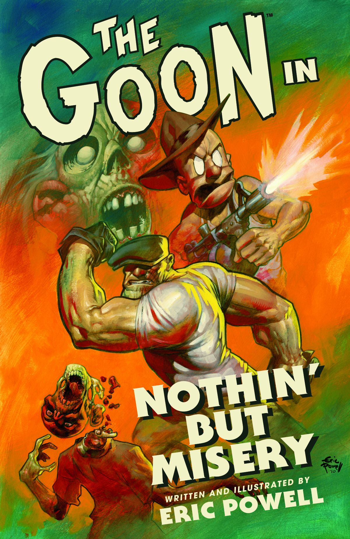 GOON TP VOL 01 NOTHIN BUT MISERY (CURR PTG)