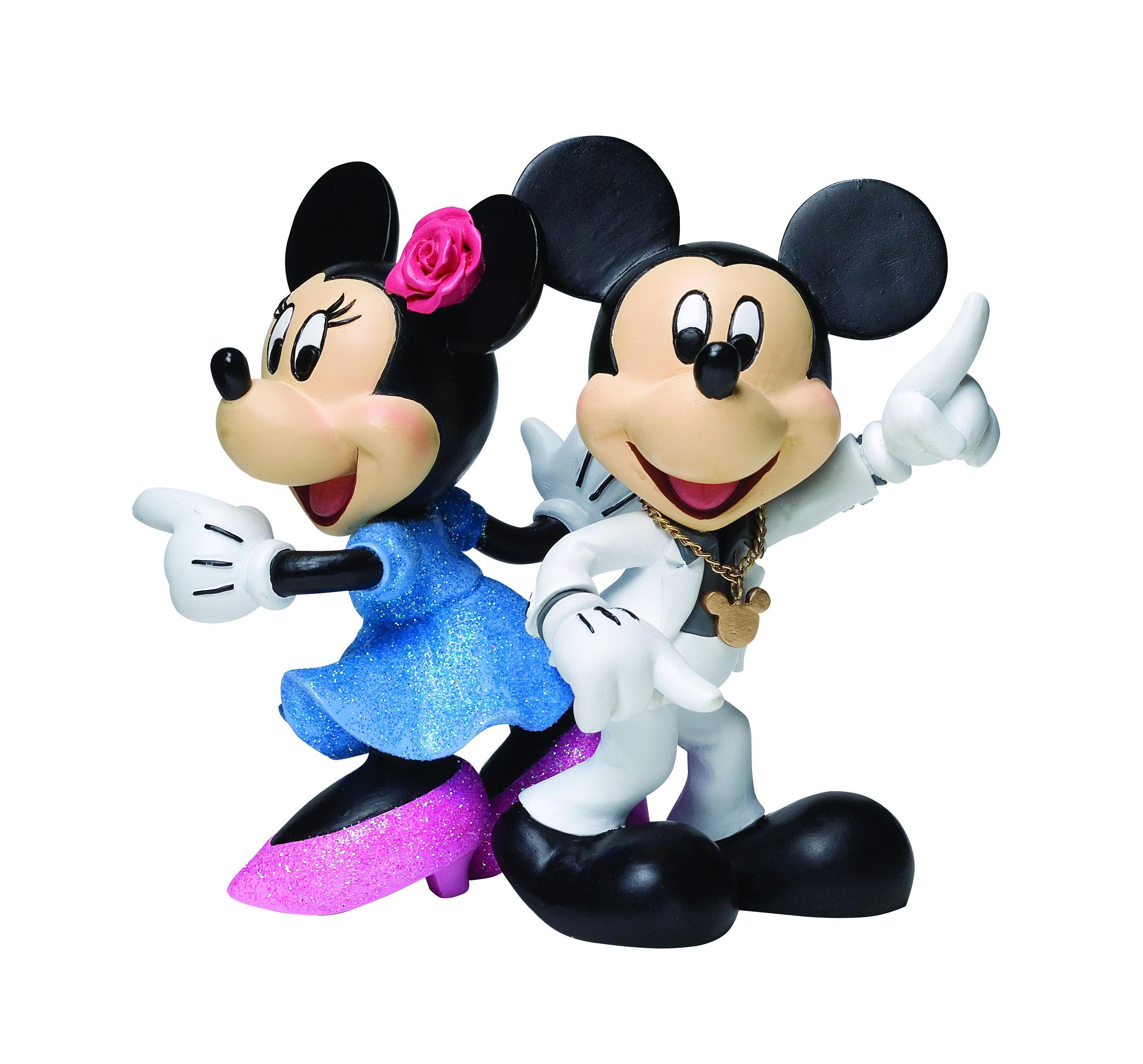 MAR111806 - DISNEY SHOWCASE MICKEY MINNIE DISCO FIGURINE - Previews ...