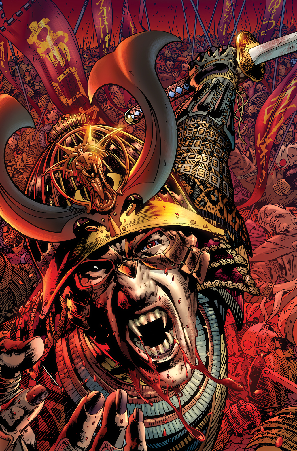 TOMB OF DRACULA PRESENTS THRONE OF BLOOD #1