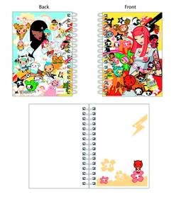 TOKIDOKI HEAVEN VS HELL A6 NOTEBOOK