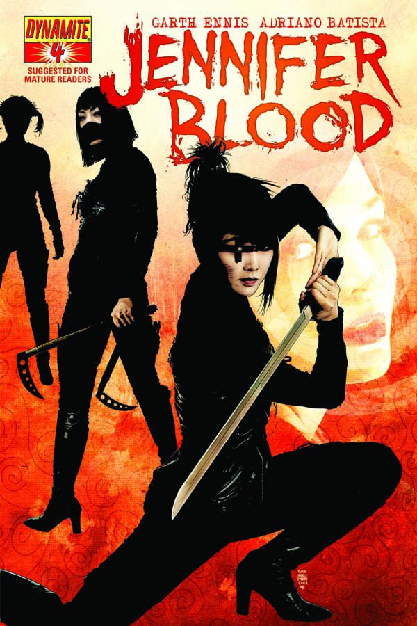 GARTH ENNIS JENNIFER BLOOD #4 (MR)