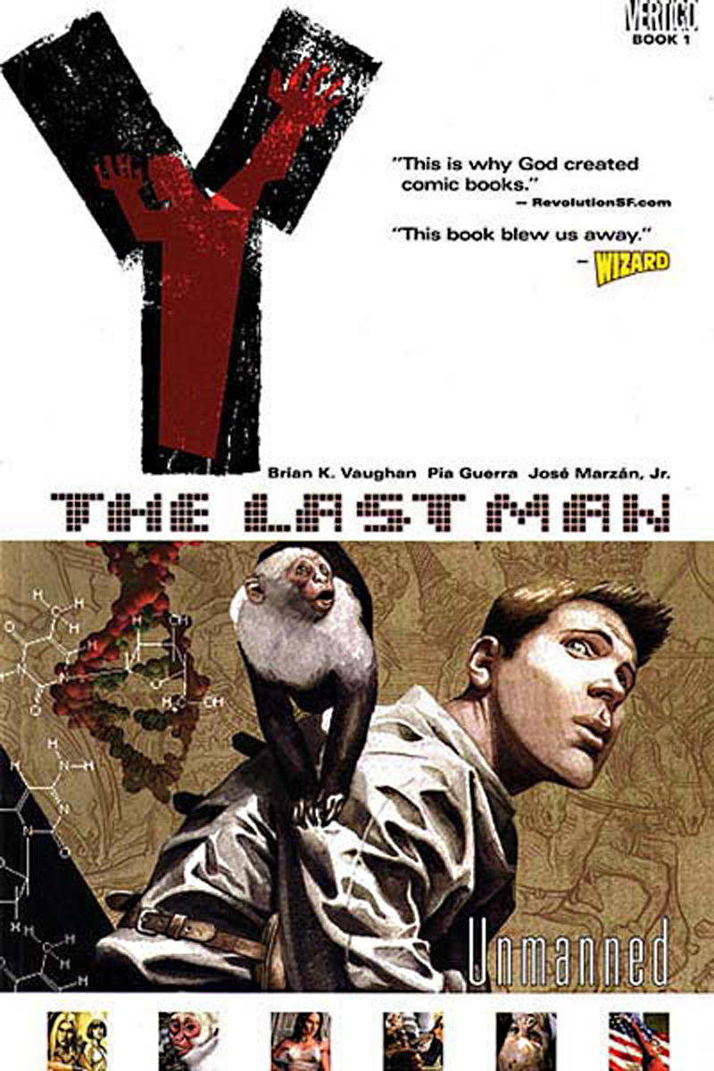 (USE JUN140312) Y THE LAST MAN TP VOL 01 UNMANNED