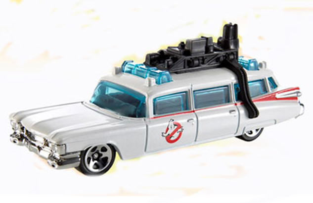 HOT WHEELS ELITE 1/18 GHOSTBUSTERS ECTO-1