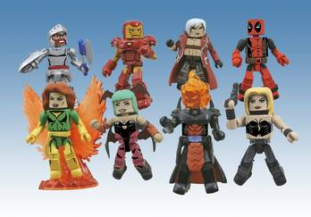 MARVEL VS CAPCOM MINIMATES SERIES 1 ASST