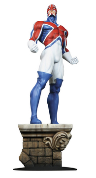 CAPTAIN BRITAIN STATUE