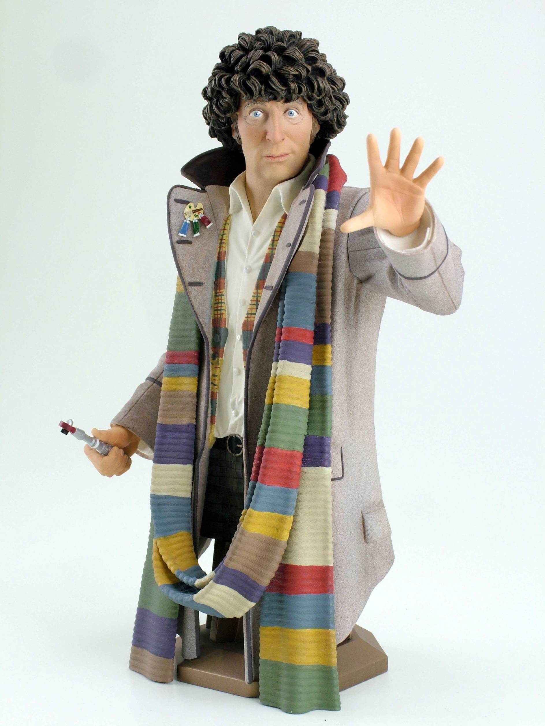 DOCTOR WHO 4TH DOCTOR MINI BUST