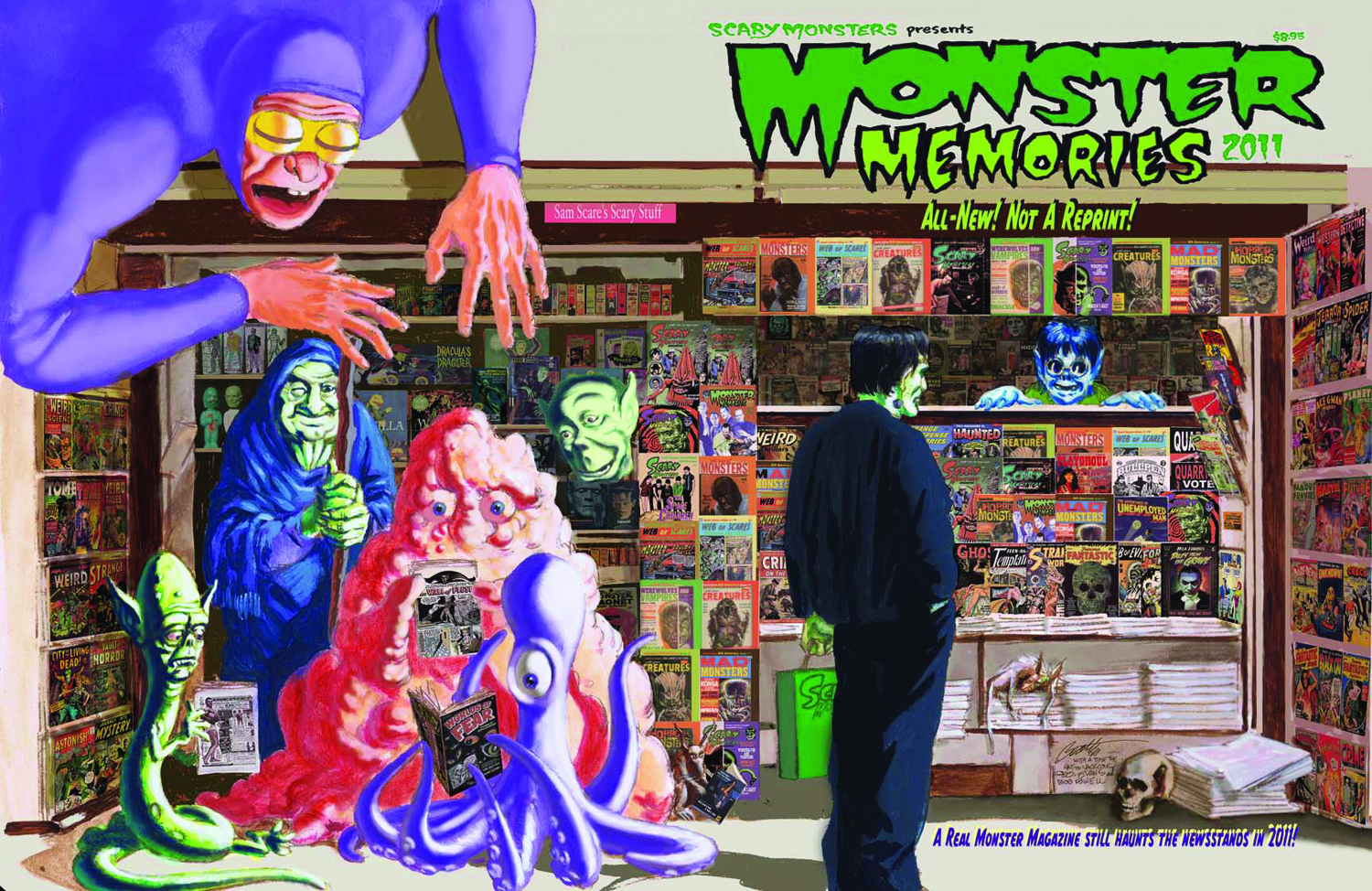 May111350 Scary Monsters 2011 Yearbook Monster Memories 19 Previews World