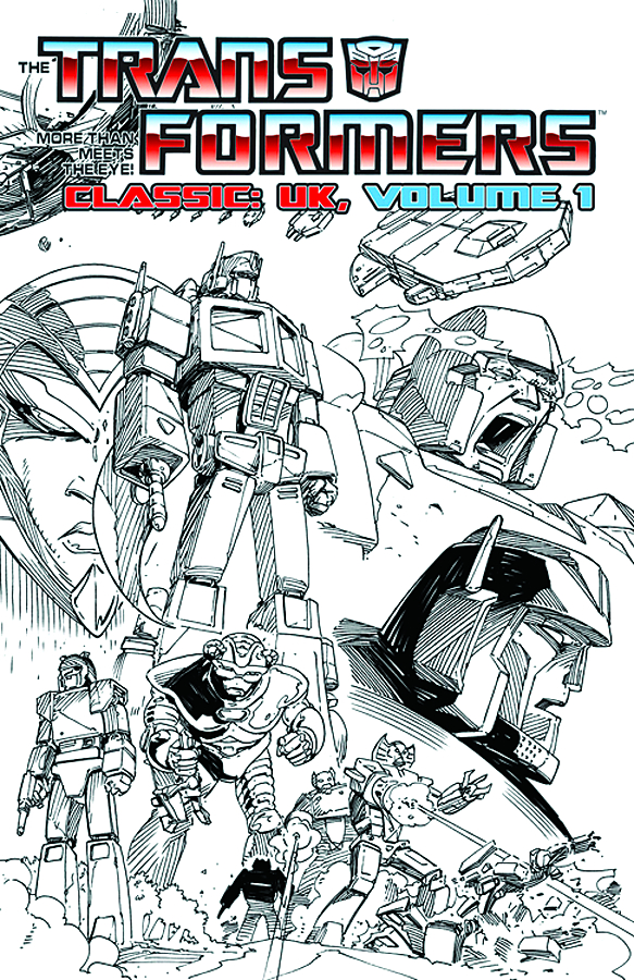 TRANSFORMERS CLASSICS UK TP VOL 01