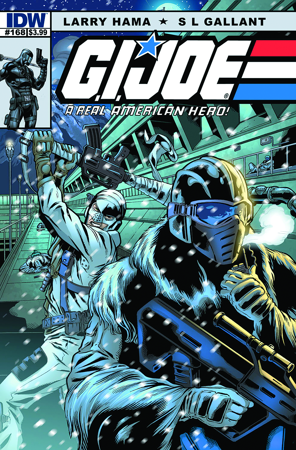 GI JOE A REAL AMERICAN HERO #168