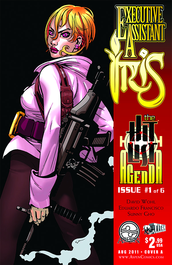 EXECUTIVE ASSISTANT IRIS VOL 2 #1 CVR A FRANCISCO